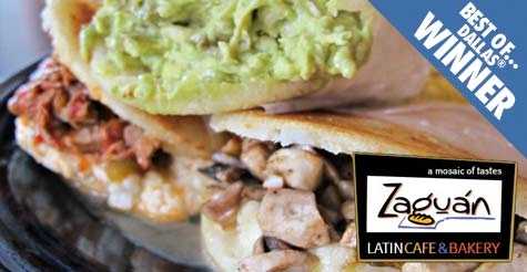 $10 for $20 of food & drink at Zaguan Latin Cafe & Bakery: Best of Dallas Winner 2012
