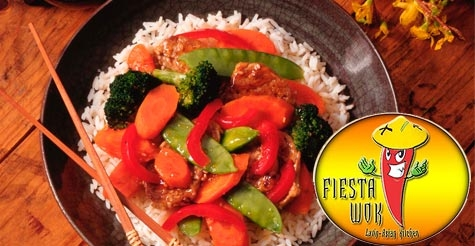 $15 for $30 for your choice of Prix Fixe menu options from Fiesta Wok