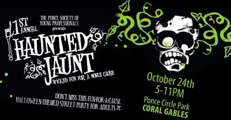 $10 for one ticket to the Haunted Jaunt Halloween Street Party
