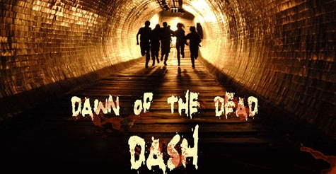 $80 for registration for 4 people, plus goodies, at Dawn of the Dead Dash