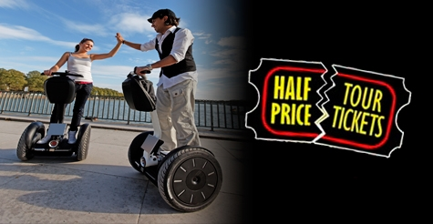 $25 for a 2-hour Segway rental