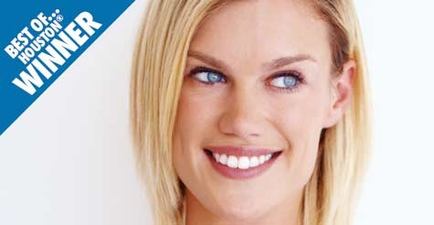 Over half off teeth whitening, an exam, and x-ray from Houstonian Dental
