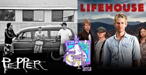 $20 for 3 day pass to Garlic Fest 2013 featuring Lifehouse and Pepper