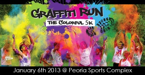 $22 for a Race Registration to The Graffiti Run