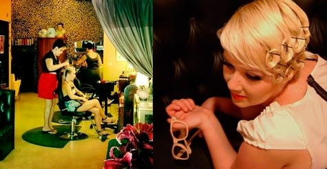 Half off hair services at vintage-inspired Kat's Meow Salon
