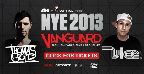 $50 for General Admission and Hosted Bar at Vanguard New Year's Eve 2013