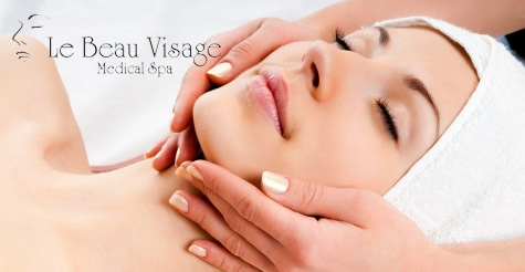 $150 for 3 facial peels of your choice from Le Beau Visage Medical Spa