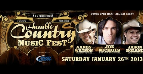 $14 for one ticket to Humble Music Festival