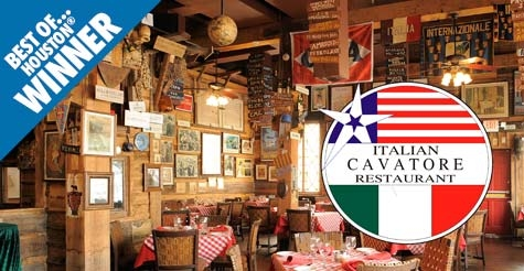 $20 for $40 at Cavatore Italian Restaurant