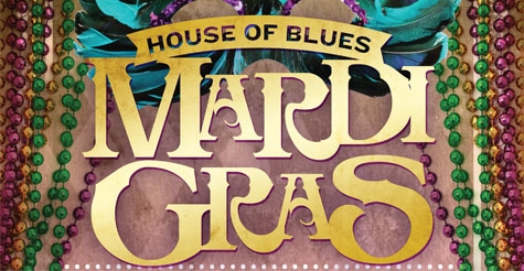 $25 Ultimate VIP House of Blues Mardi Gras Experience plus one ticket to Cowboy Mouth