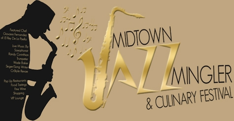 $40 for 1 VIP Experience to the Midtown Jazz Mingler & Culinary Festival