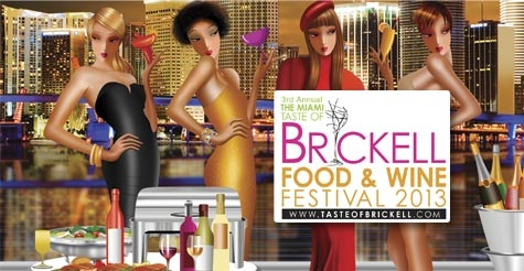 $60 for 1-Day VIP Admission to Taste of Brickell Food and Wine Festival