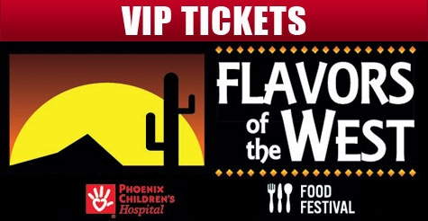 $50 for one VIP ticket to Flavors of the West