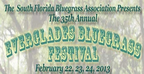 Half off Admission to 35th Annual Everglades Bluegrass Festival