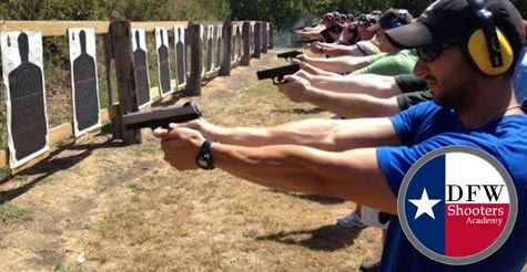 $69 for a Concealed Handgun Course and Lunch from DFW Shooters Academy