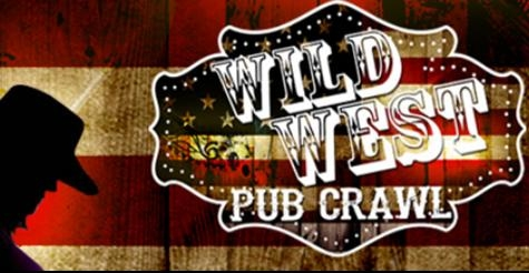 $14 for Two General Admission Wrist Bands to Wild West Pub Crawl