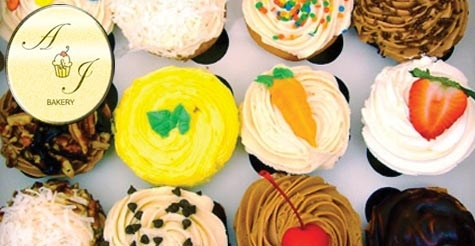 $15 for one dozen cupcakes - perfect for Mother's Day