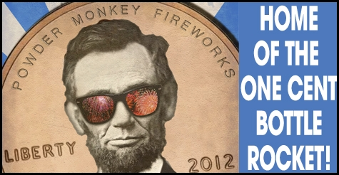 $20 for fireworks at Powder Monkey Fireworks