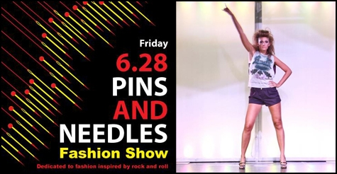 $7 for general admission to the Pins and Needles Fashion Show