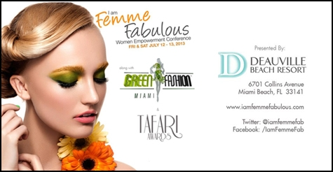 $25 for 1 luncheon at the Green Fashion Miami & IFF Women's Empowerment Conference