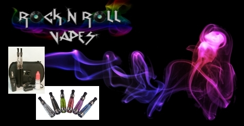 Half off eLiquids, Accessories, and Starter Kits at Rock N Roll Vapes