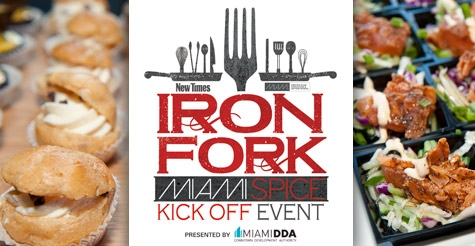$27 for One General Admission Ticket to Miami New Times Iron Fork