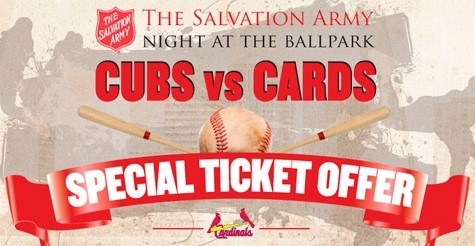 $40 for a night at the ballpark with The Salvation Army