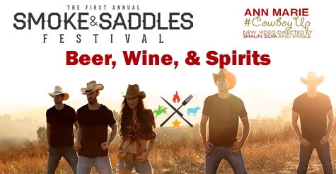$25 for one ticket to Agoura Hills Smoke & Saddles BBQ  Festival  - includes unlimited drinks!