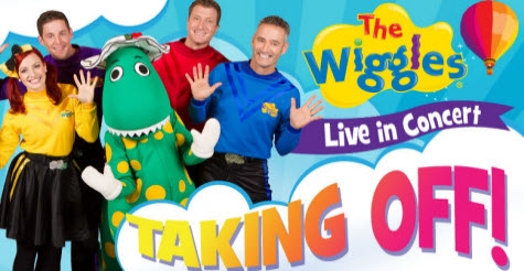 $24 for a ticket and snack pack to The Wiggles: Taking Off! at Bayou Music Center