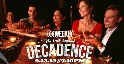 $15 for one GA ticket to OC Weekly's 10th Annual Decadence