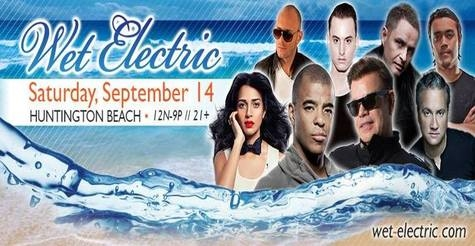 $55 for Wet Electric GA Ticket or Half-off VIP Ticket