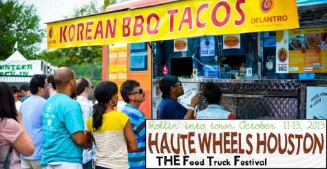 Last chance, $35 for one VIP ticket to Haute Wheels Houston Food Truck Festival