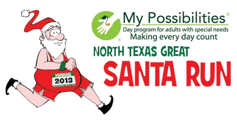 Half off registration for the North Texas Great Santa Run on December 14, 2013