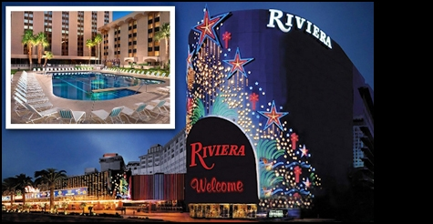 $35 for 2-night stay at the Riviera Hotel & Casino, Las Vegas BITE Card and a free $50 Restaurant.com Gift Card