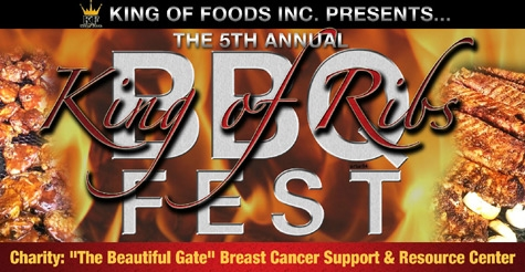 $5 for General Admission for 2 to King of Ribs BBQ Festival!