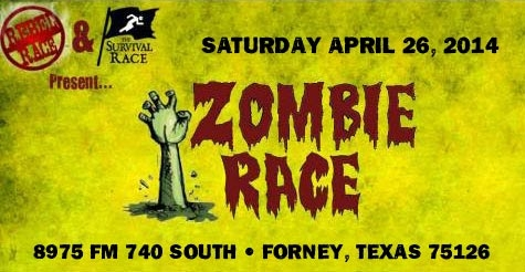 Save on Registration for the Zombie Race, Sat. April 26