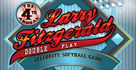 $10 GA Ticket to the 4th Annual Larry Fitzgerald Celebrity Softball Tournament