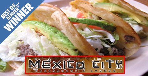 $10 for $20  worth of fare and drinks at Mexico City Restaurant & Lounge
