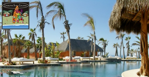 Over half off  3, 4, 5 and 7 night stays at Cerritos Surf Colony in Baja California Sur, Mexico