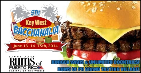 Over Half Off One Admission to Burger Wars and Unlimited Cocktails - Rums of Puerto Rico Grand Tasting Village