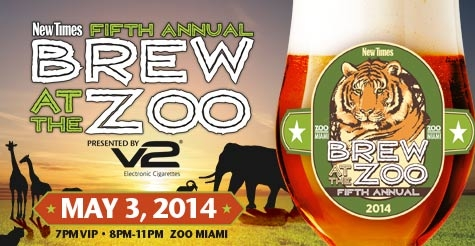 $80 for a 4-Pack of General Admission tickets to 5th Annual Brew at the Zoo