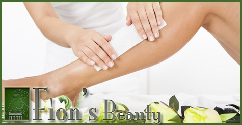 Half Off Body Waxing at Fion's Beauty!