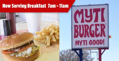 Half-Off at MytiBurger!