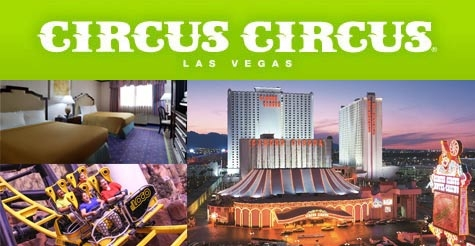 $35 for 2 nights at the Circus Circus Hotel & Casino in Las Vegas, Las Vegas BITE Card and a $50 Restaurant.com gift card - Room Tax included-