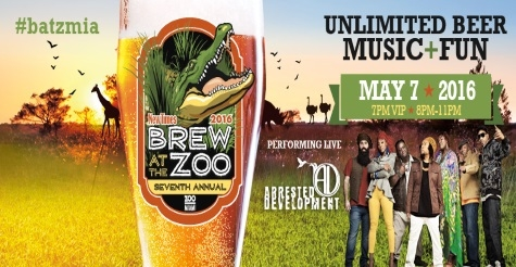$20 for Brew at the Zoo General Admission Ticket