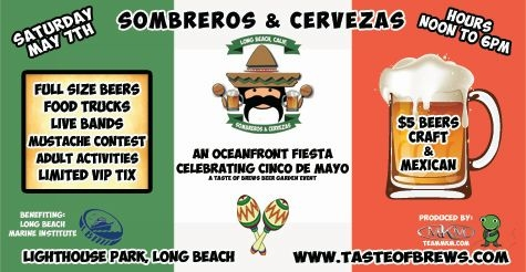 $10 for 2 general admission tickets to Sombreros & Cervezas