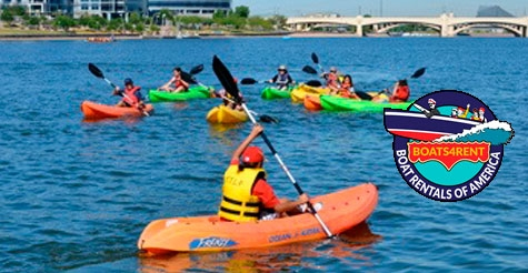 $15 for 1 Hour of Kayaks at Tempe Town Lake!
