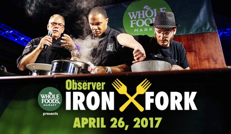 $850 for a VIP Table to Dallas Observer Iron Fork