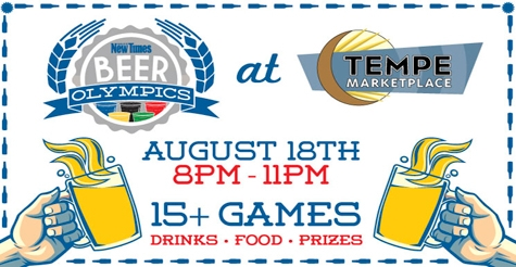 $10 for a Ticket to Beer Olympics (includes 2 drinks)