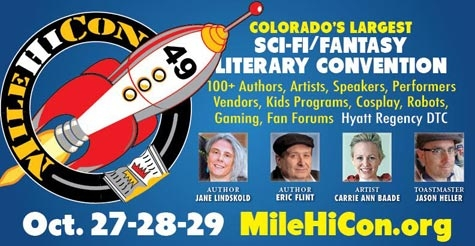 $24 for 3-day pass to MileHiCon 49: Colorado's Premier Science Fiction and Fantasy Literary Convention